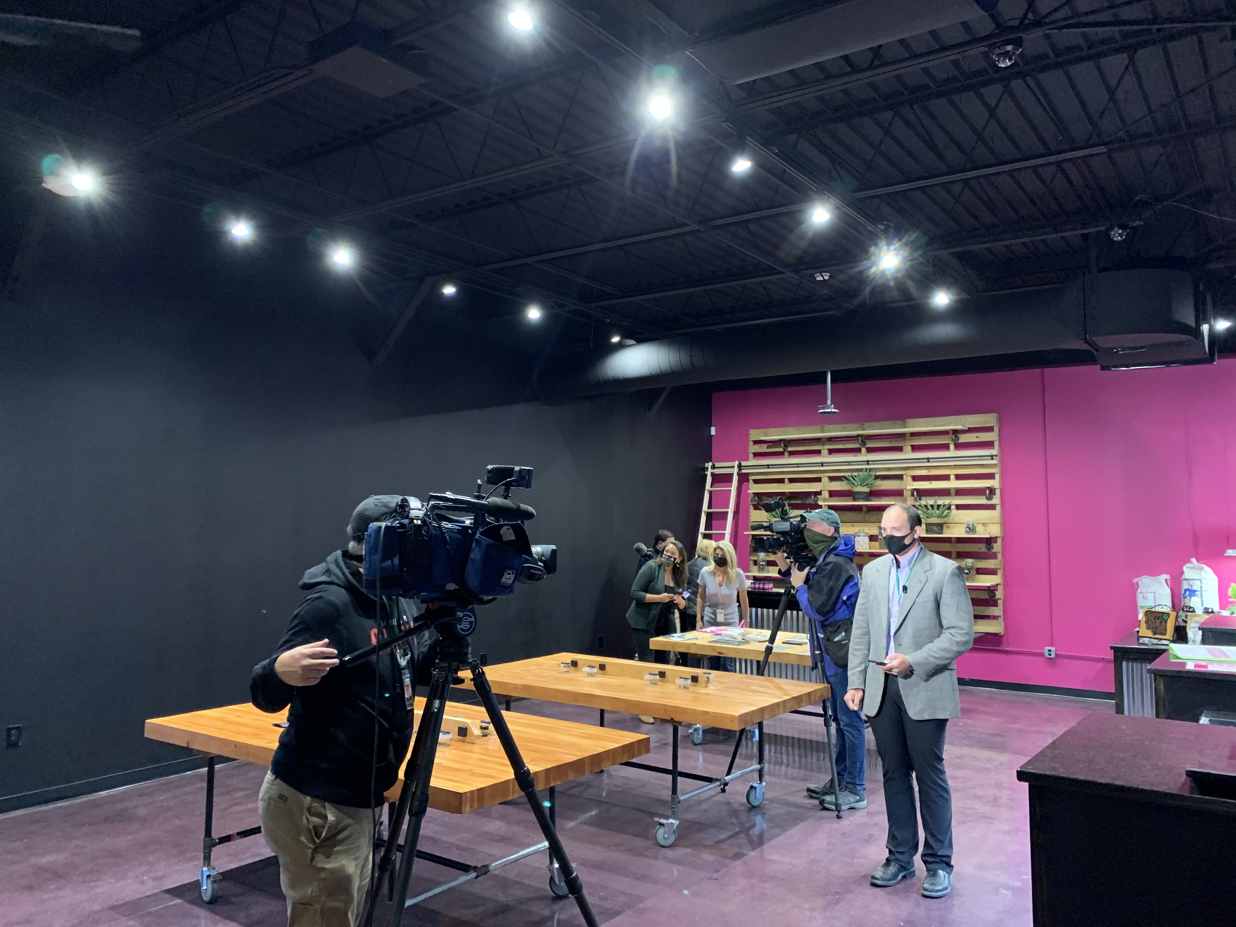 Media on Hand for Grand Opening of Fresh Green KC in Lee's Summit, MO